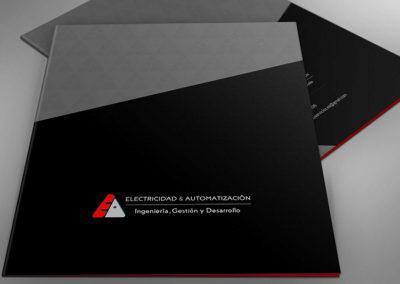 Cliente E & A, desarrollo de imagen corporativa