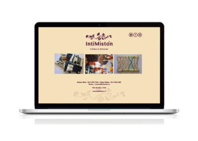 Cliente INTIMISTÓN, desarrollo de imagen corporativa