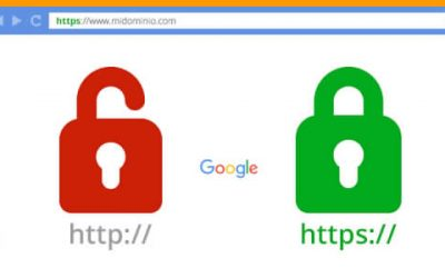Google da prioridad a web con certificado SSL