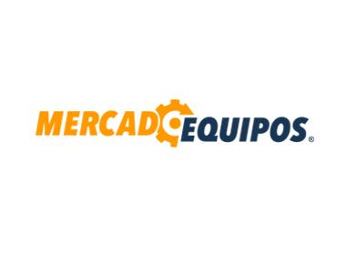 Logotipo del sitio web MercadoEqiuipos.cl diseñado por Estudio DEOZ