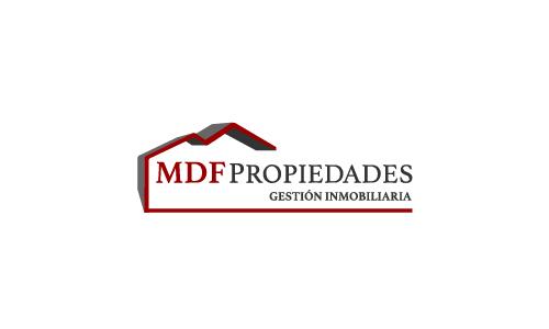 Imagen corporativa MDF PROPIEDADES - Estudio DEOZ